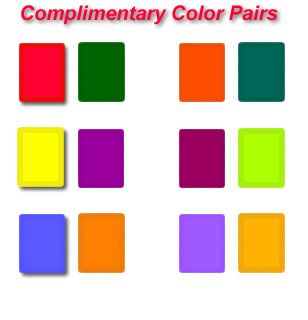 Pairs Of Complementary Colors Complimentary  Color Wheels & Theory Some Video  Pinterest