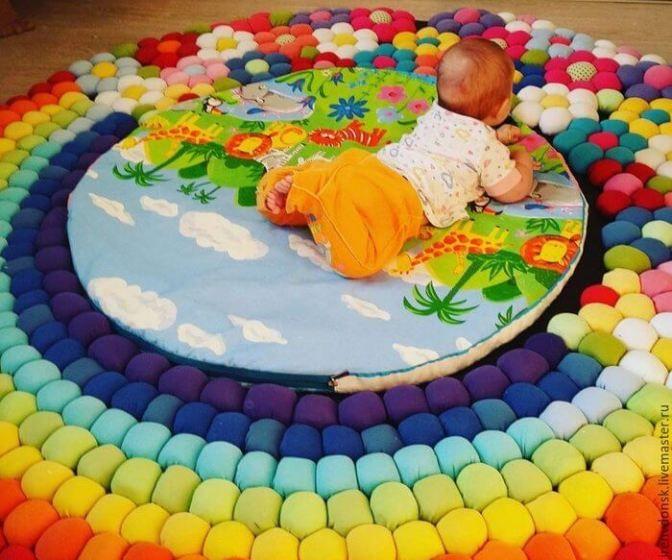DIY Alfombra para bebé – Patrones gratis