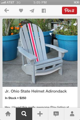 I Have Some Benches Could Paint Like This Ohio State Helmet Buckeyes Football