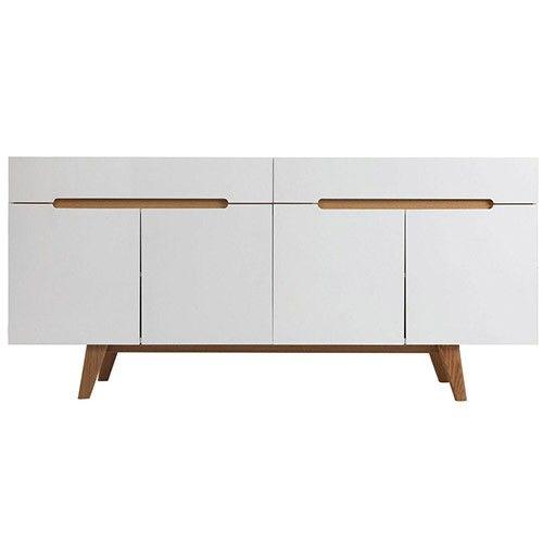 Finn Sideboard 2 Drawers 4 Doors Scandinavian Furniture Milan Direct Modern Kitchen Furniture Scandinavian Furniture Timeless Furniture