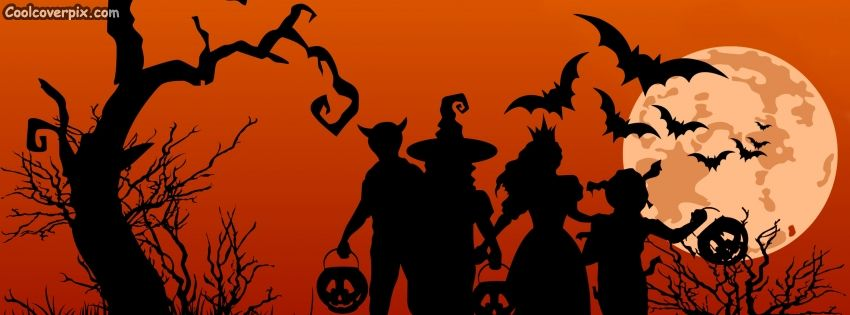 haunted family halloween facebook cover this fb cover photo is an awesome present for you from - Halloween Cover Pictures