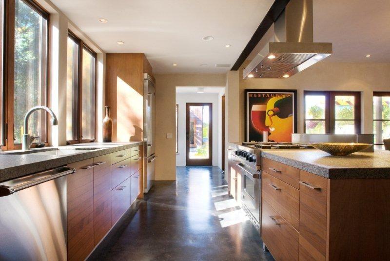 european kitchen desiign - calistoga kitchenkitchen cabinet color