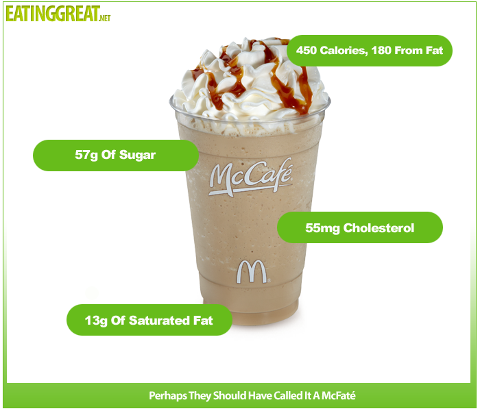 Small Caramel Frappe Nutrition Facts Nutritionwalls