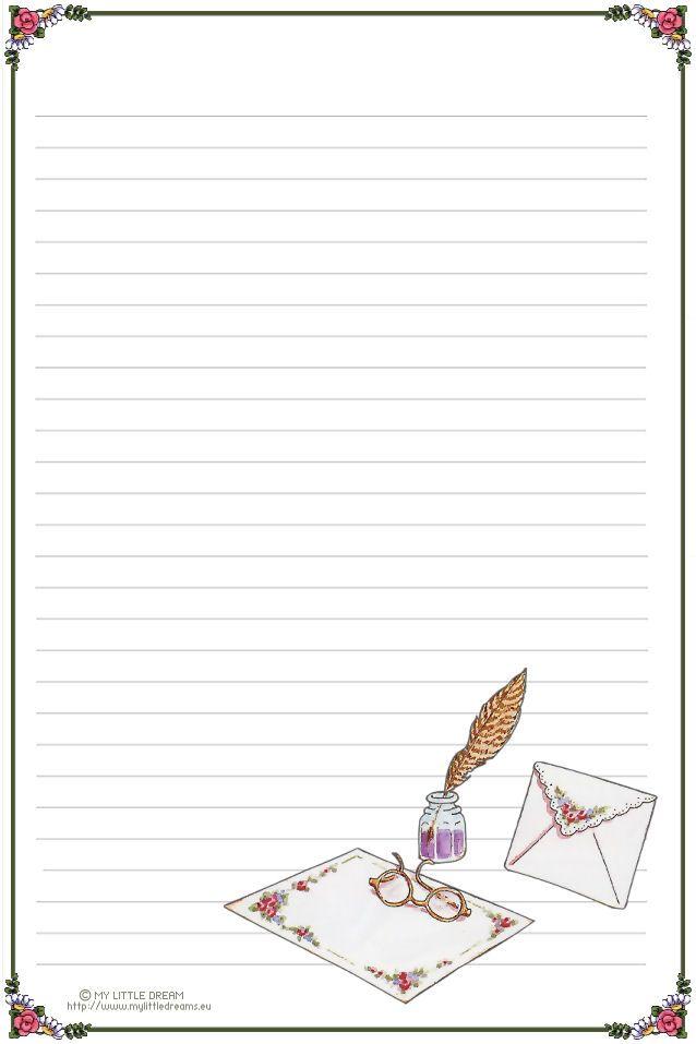 carta da lettera senza righe - Cerca con Google                                                                                                                                                      Más