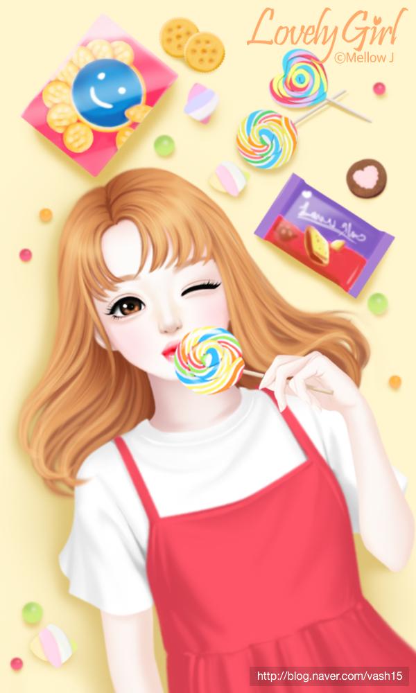 15번째 이미지 Gambar, Anak perempuan, Anime gadis cantik