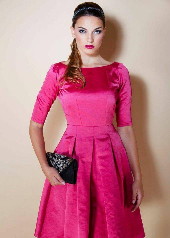 Fuchsia Pink Florence Dress