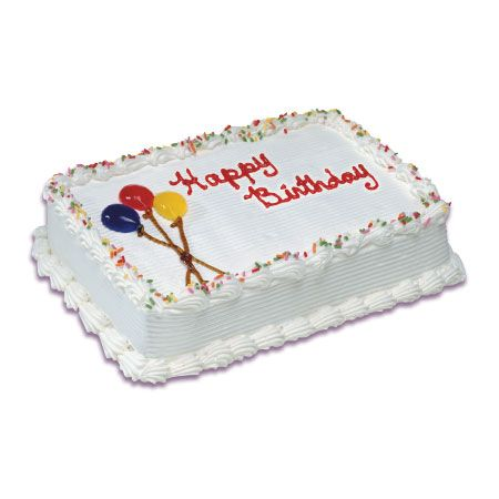 Carvel Ice Cream Cake Ask To Decorate With Purple And Blue Accents Candles