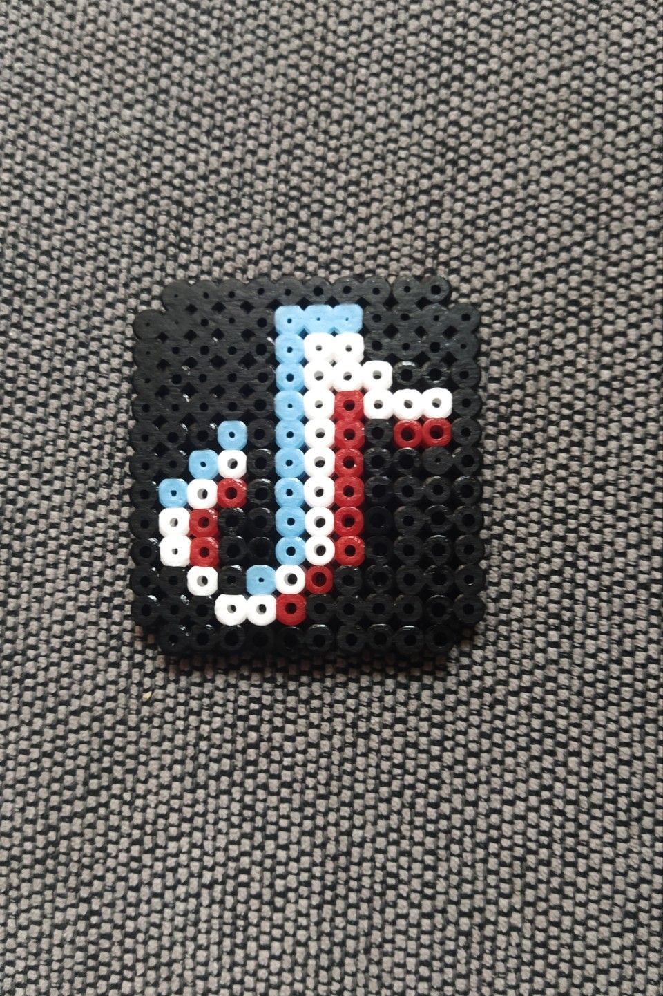 Tiktok Logo Hama Melt Beads Patterns Hamma Beads Ideas Perler Bead Disney