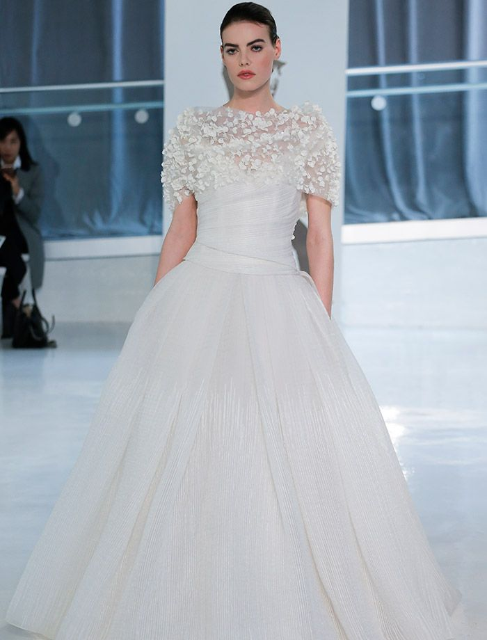 Popular Your spring wedding dress trends are here From feathered ball gowns to D floral