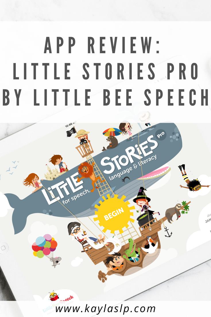 App Review Little Stories Pro by Little Bee Speech in