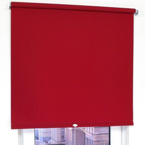 Photo of Rollo Tageslicht Zipcode Design Größe: 92 x 240 cm, Farbe: Dunkelrot