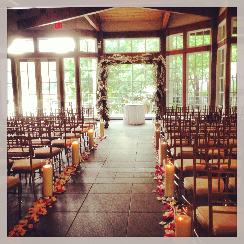 Central Park Boathouse Wedding Ceremony