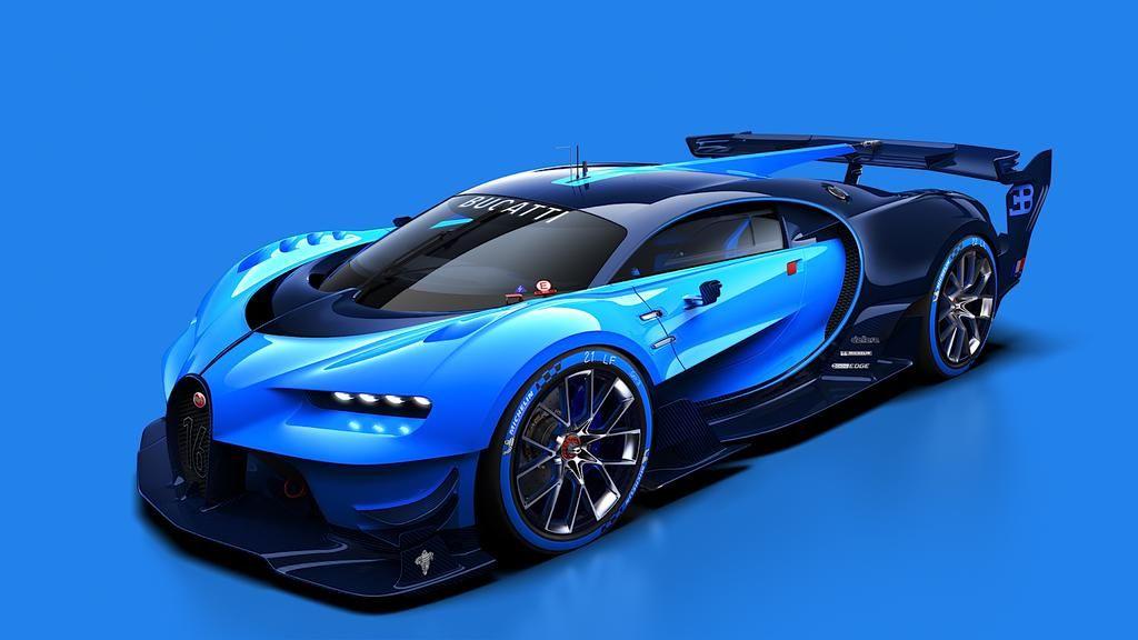 Bugatti Vision Gran Turismo Vehicle Inspires The Future Of Fast Bugatti Cars Bugatti Vision Gt Futuristic Cars