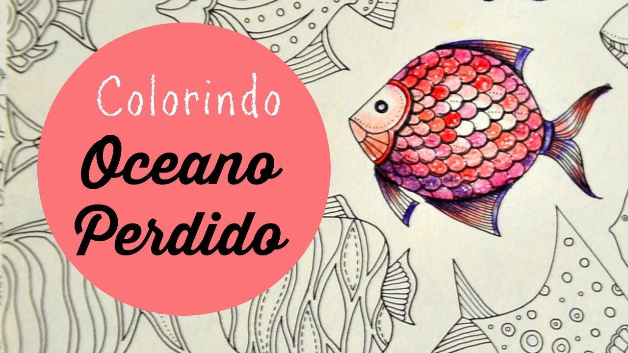 Fish (8) | Colouring Videos - Lost Ocean | Pinterest | Ocean ...