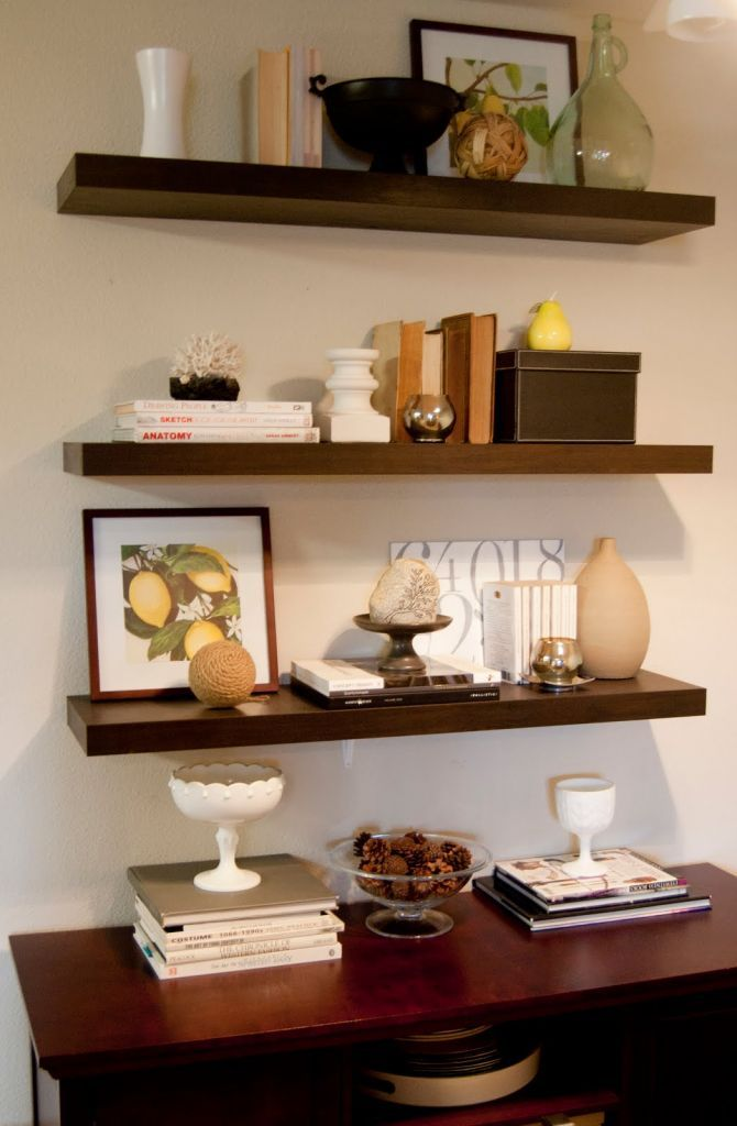 Ikea Floating Shelves
