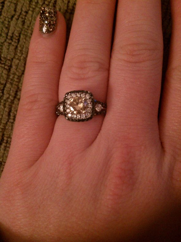 mesmerizing chocolate diamond wedding ring set mongalab