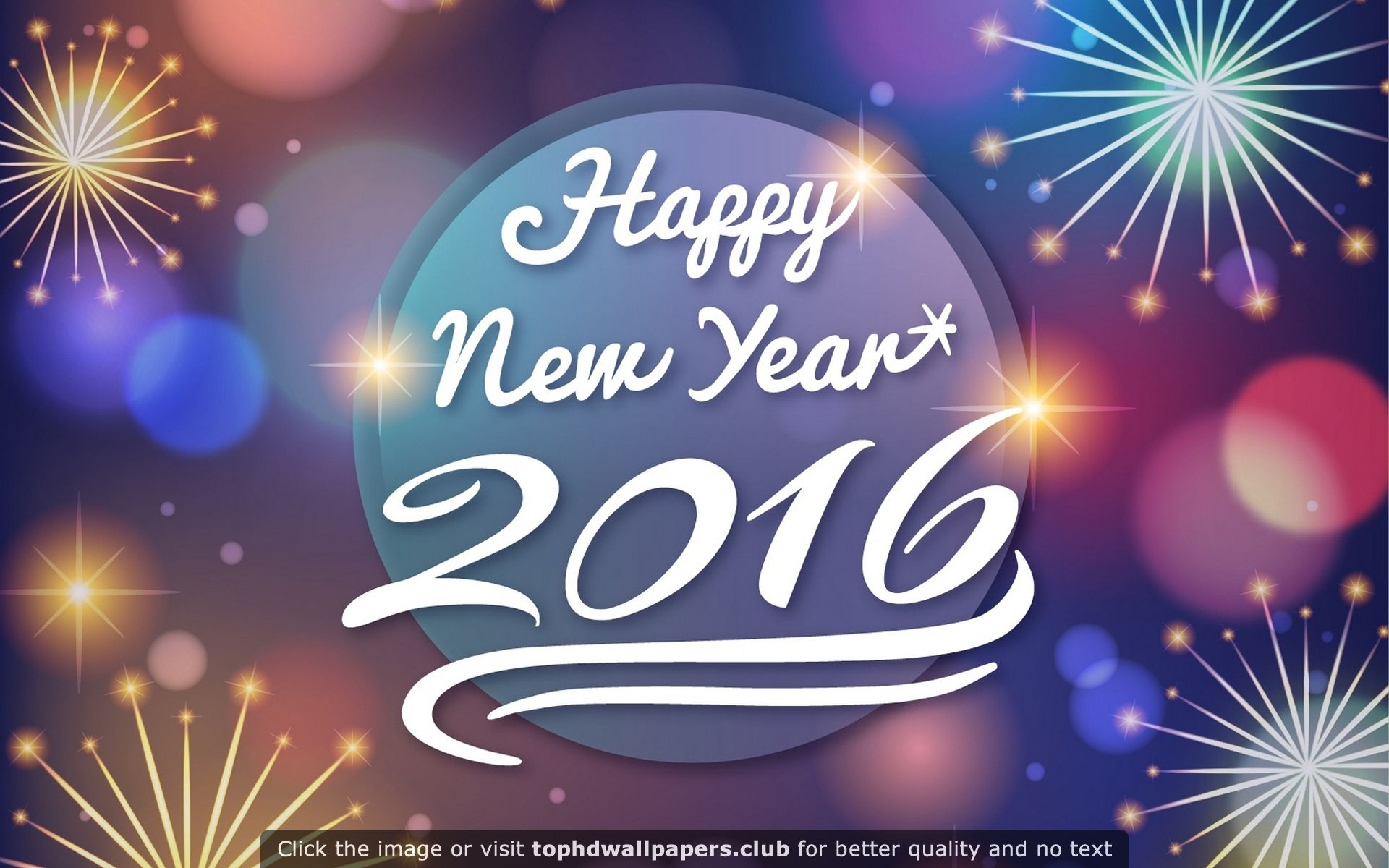 Happy New Year 2016 Hd Wallpaper For Your Pc Mac Or Mobile Device