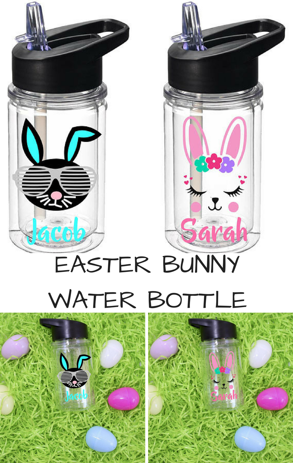 Easter basket stuffer for kids easter gift personalized easter easter basket stuffer for kids easter gift personalized easter tumbler easter bunny cup negle Gallery