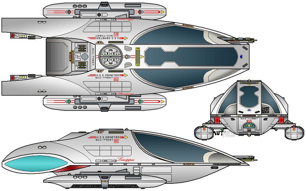 Star Trek type 14 shuttle Trek Stuff Star trek
