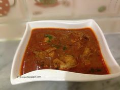 Chicken kolhapuri is a hot and spicy chicken curry with delicious taste and aroma originated fr...
