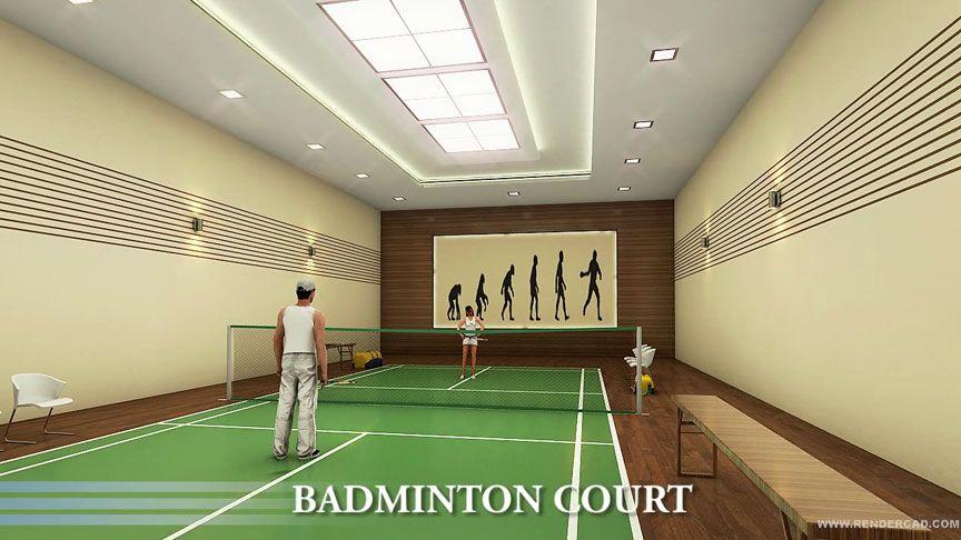 IndoorBadminton Court