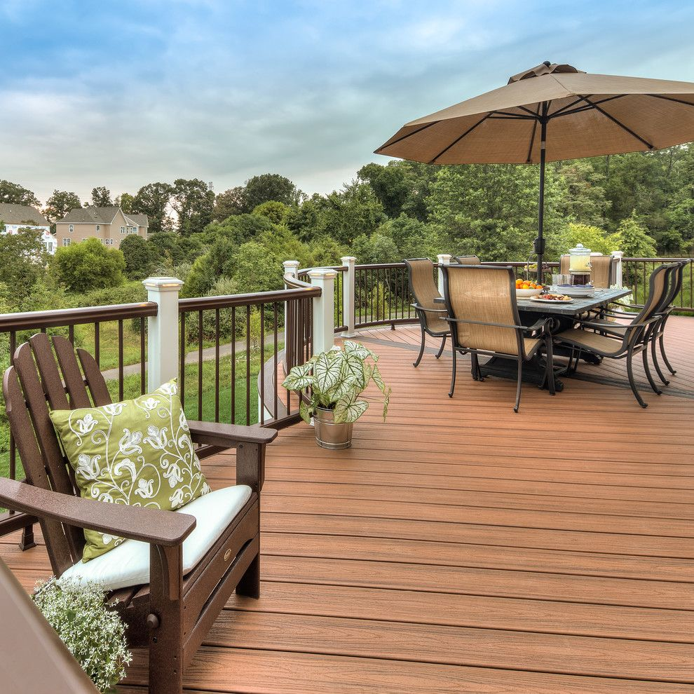 Bright daybed frame in Deck EANF with Transcend Tiki Torch ...