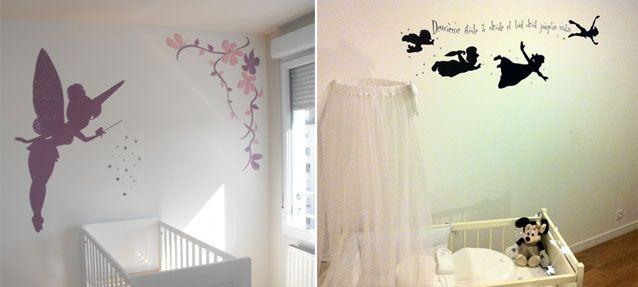le pochoir mural chambre b b personnalisez la d co sans. Black Bedroom Furniture Sets. Home Design Ideas