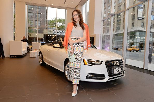Louise Roe Photos Photos Audi And Volkswagen Dealership Opens In Nyc Louise Roe Nyc Volkswagen