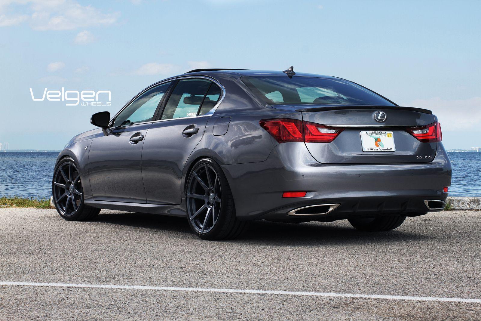 2014 lexus gs 350 f sport tire size