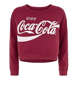 840cfeab3 Coca Cola Jumper-£17.99-New Look♡