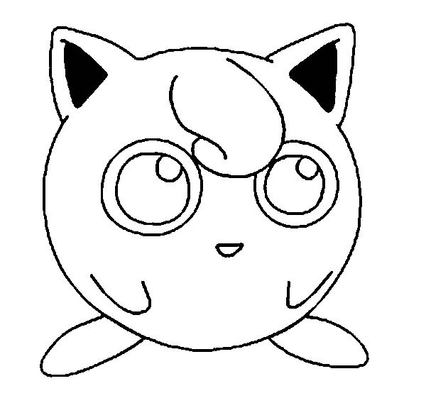 Awesome Pokemon Jigglypuff Picture Coloring Page Download Print Online Coloring Pages For Free Col Pokemon Coloring Pages Pokemon Coloring Pokemon Sketch