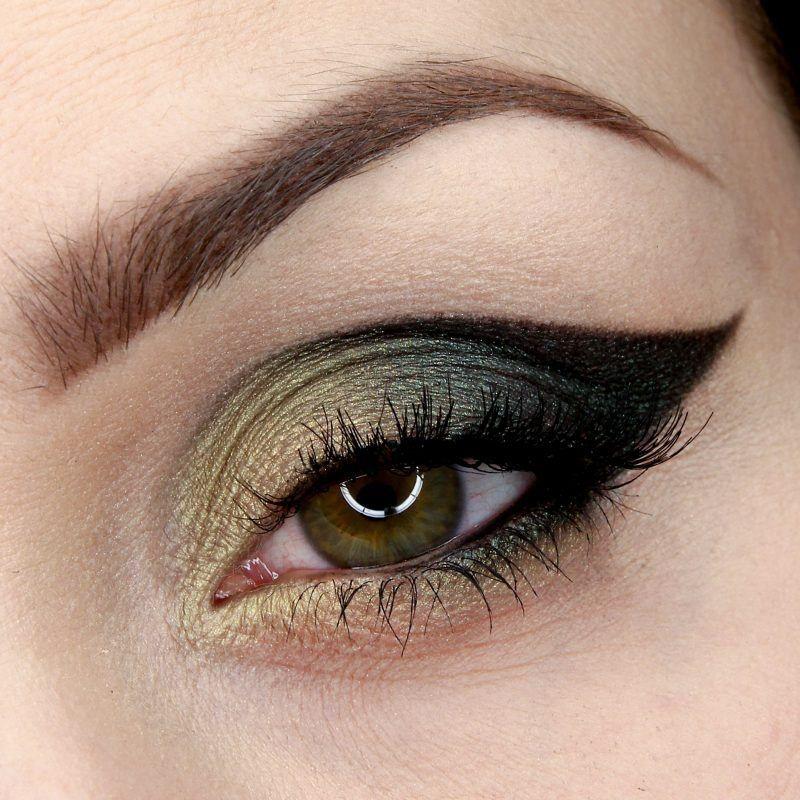 Green cat Makeup Tutorial by Wrzosowisko. Makeup Geek