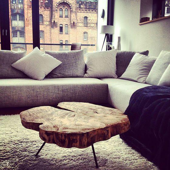 Home Stagig Lounge Couchtisch Holzwerk-Hamburg Wohnzimmer - wohnzimmer italienisches design