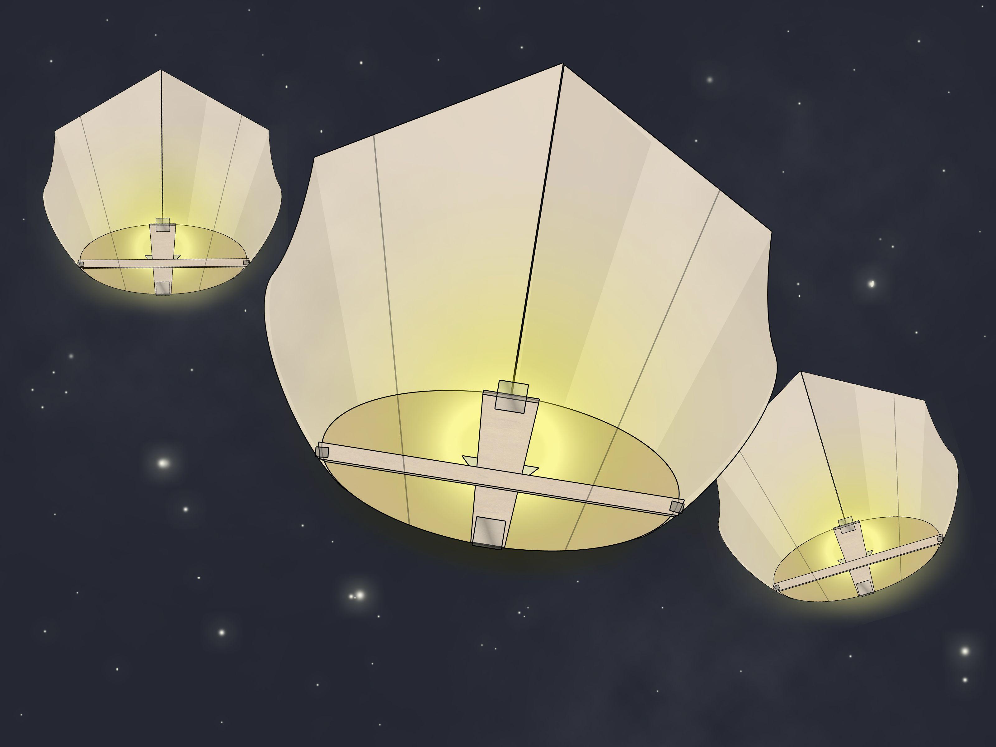 How To Make Sky Lanterns Sky Lanterns Floating Paper Lanterns Flying Paper Lanterns