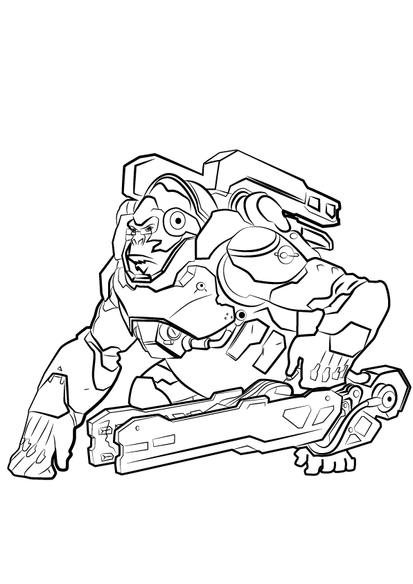 Overwatch Coloring Pages Best Coloring Pages For Kids Coloring Pages For Kids Coloring Pages Cool Coloring Pages