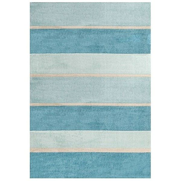 Summer Blue Shades Modern Rug By Rug Republic Zanui 7 53 Liked On Polyvore Featuring Home Rugs Blue Area Rugs M Modern Area Rugs Modern Rugs Blue Rug