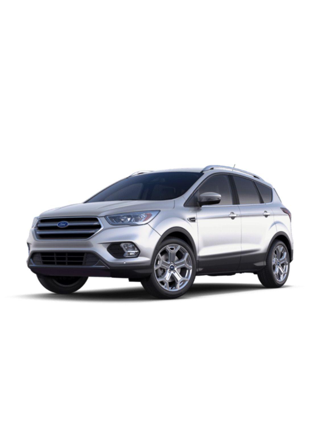 2019 Ford Escape Titanium White Platinum In 2020 Ford Escape 2019 Ford Titanium White