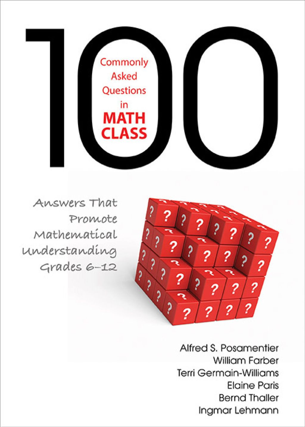 100 Commonly Asked Questions In Math Class Ebook In
