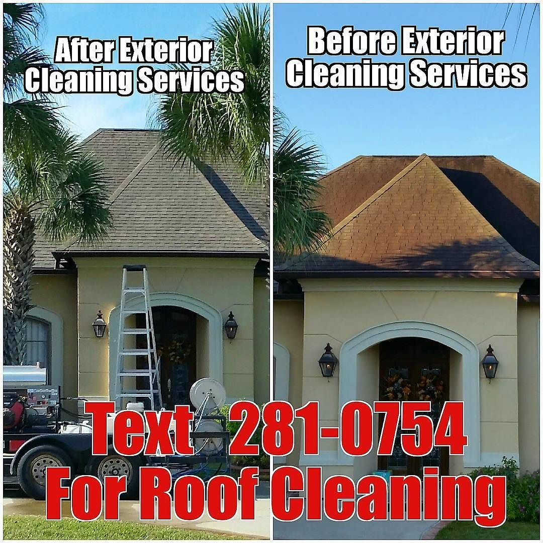 We Meanit When We Clean It Text 218 0754 For Your Free Roof Cleanimg Quote Myexteriorcleaning Roofwashing Roof Cleaning Pressure Washing Roof