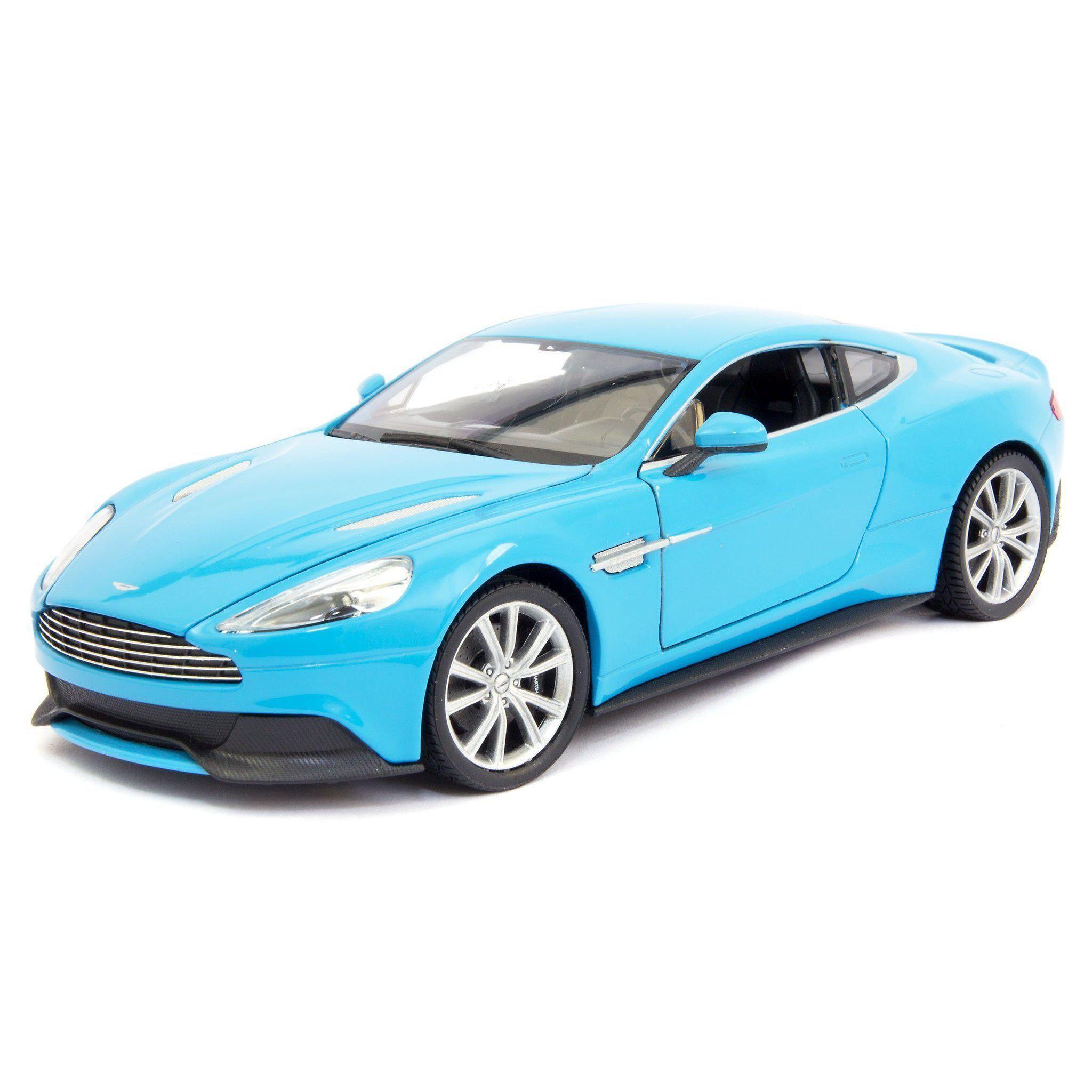 Aston Martin Vanquish Diecast Model Car 124 Scale