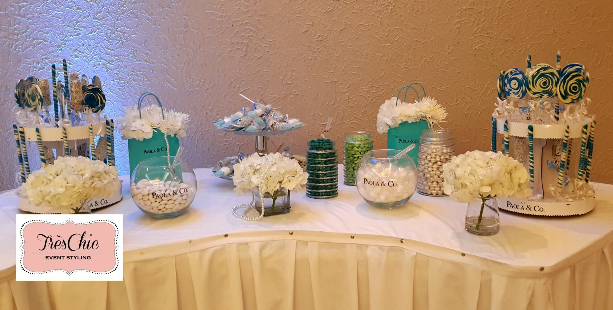 Tiffany & Co Inspired Party ~ Featured Party | Seshalyn's Party Ideas #tiffanyinspiredparty