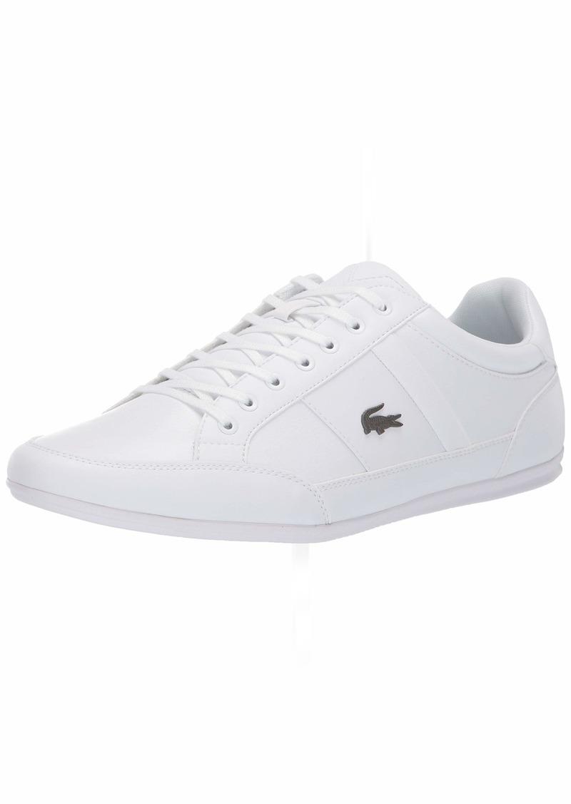 Lacoste Men S Chaymon Sneaker White Shopinzar Com In 2020 Sneakers Men Fashion Sneakers Outfit Men Sneakers White