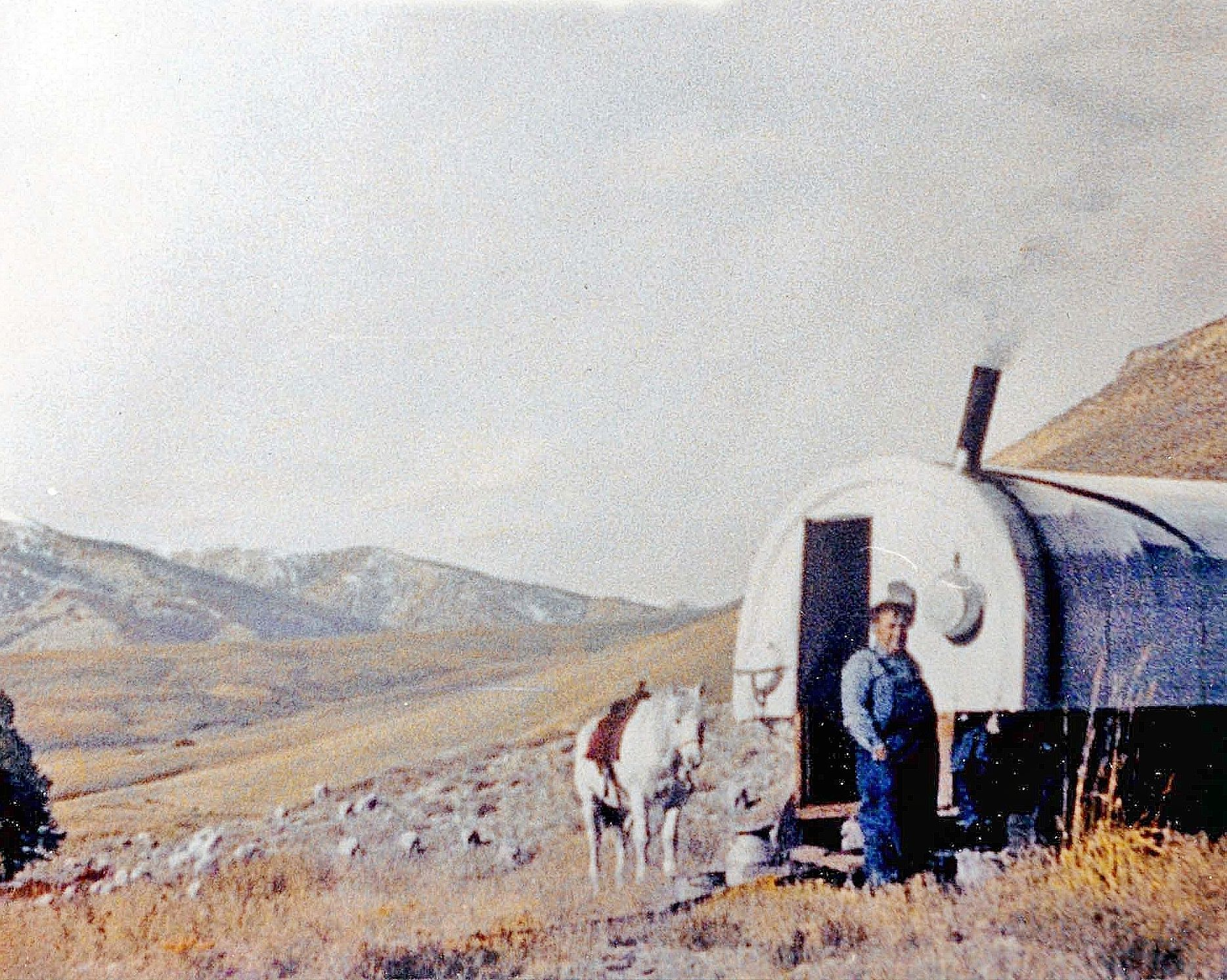 on the range basque sheep camps sheep wagons. Black Bedroom Furniture Sets. Home Design Ideas