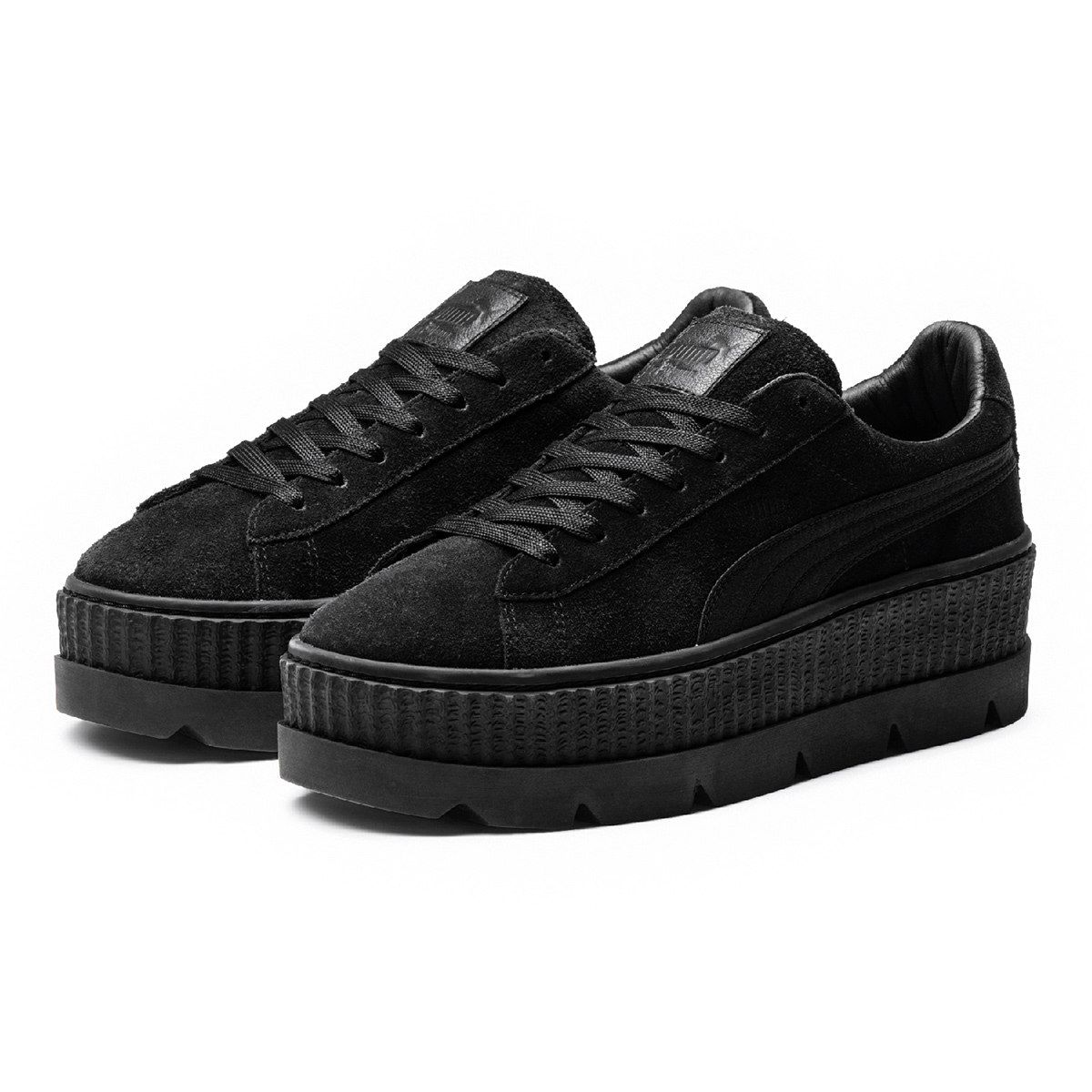 Tênis Puma Cleated Creeper Suede Feminino - Preto  cd41489377d55