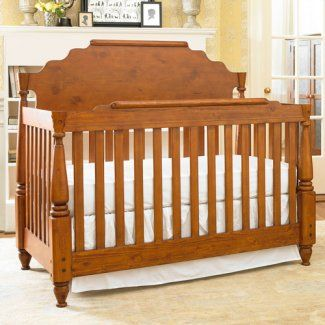 This Bonavita Historic Convertible Crib In Country Wheat