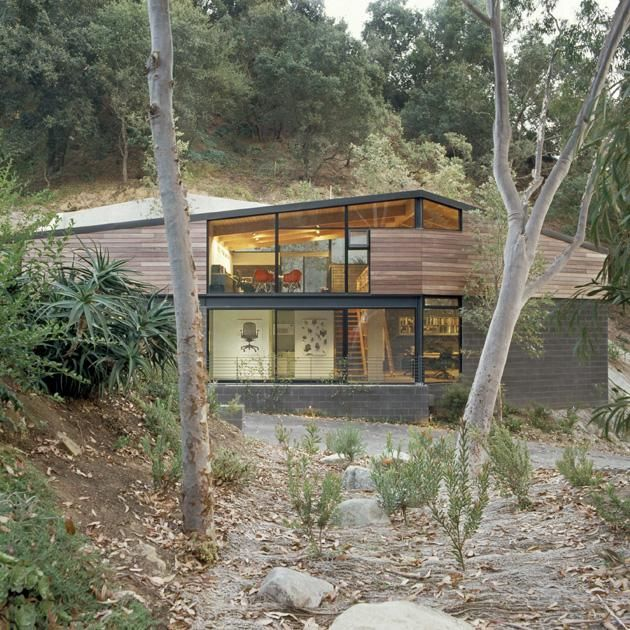 The Chadwick Studio By Frederick Fisher And Partners Architecture Architecture Design American Architecture