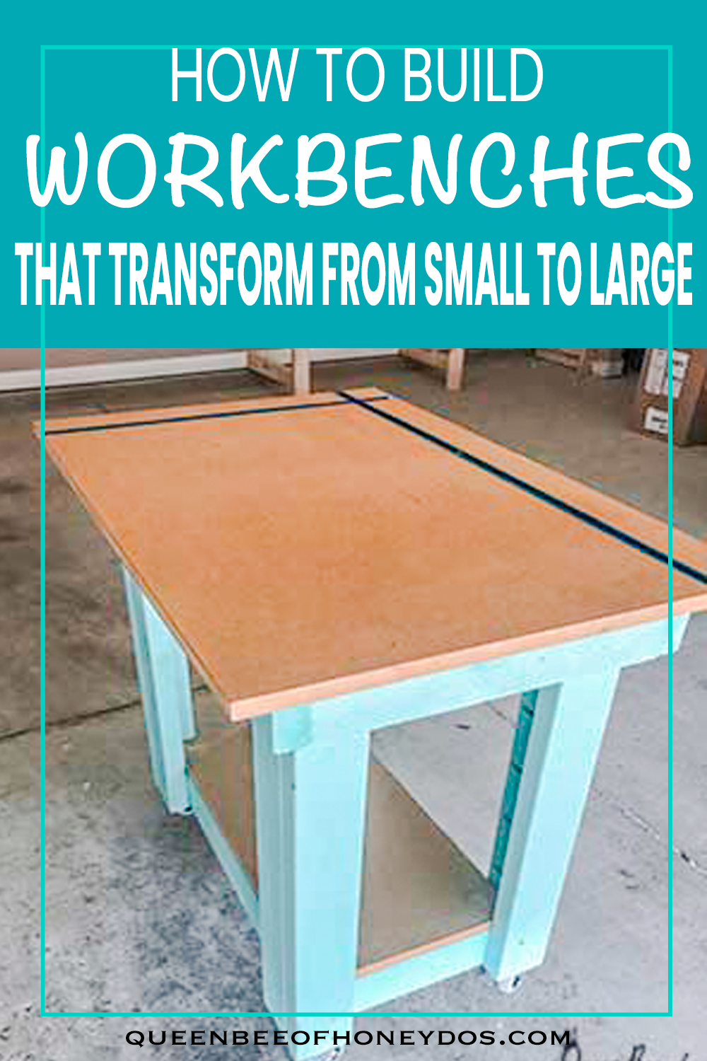 How To Build a 3-Way Convertible Workbench or Crafting Table