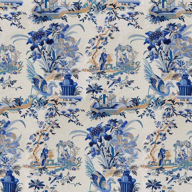 Le Lac Blue/White Kravet in 2020 Blue and white