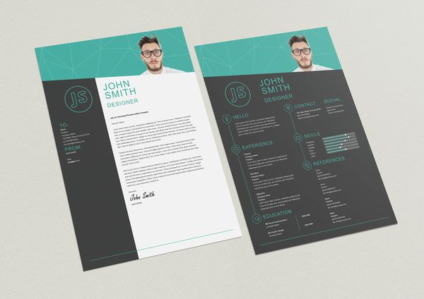 Pin by Zai Akma on Resume, Cover Letter, Portfolio ...