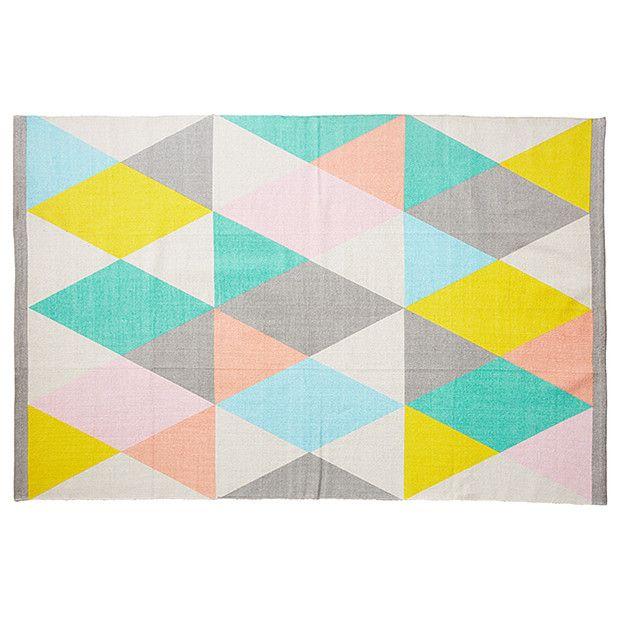 Kaleidoscope Triangle Floor Rug 1 2m X 8m Target Australia
